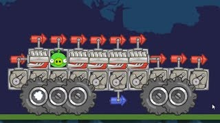 Bad Piggies - REAL SILLY MONSTER TRUCK (Field of Dreams)