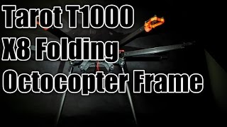 New Tarot X8 Folding Octocopter Frame-T1000