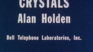 Crystals - Alan Holden 1958 - YouTube