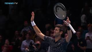 Djokovic beats Cilic as Zverev sets semi-final with Federer | 2018 Nitto ATP Finals Highlights Day 6
