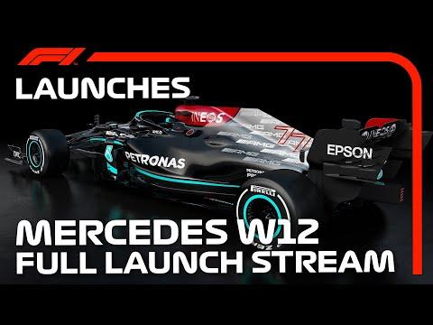 F1 2021 メルセデスAMG「W12」が世界初公開!動画で見るW12