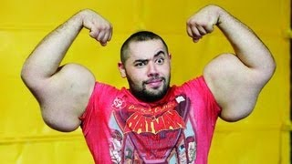 'Egyptian Popeye' Says Arms Are For Real thumbnail