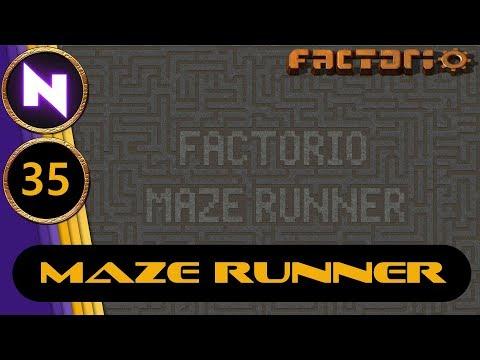 Factorio 0.17 Maze Runner #35 NUCLEAR POWER DESIGN