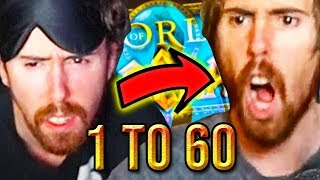 Asmongold Journey To Level 60 - Classic WoW Highlights SUPERCUT