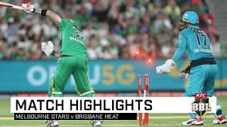 Brisbane Heat reversed their fortunes with AB de Villiers slamming six sixes on his way to a  37-ball 71 before taking the gloves in a superb bowling effort as a lacklustre effort from the Melbourne Stars saw them slump to a third straight defeat