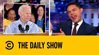Joe Biden Stumbles Through His First Speech | The Daily Show with Trevor Noah