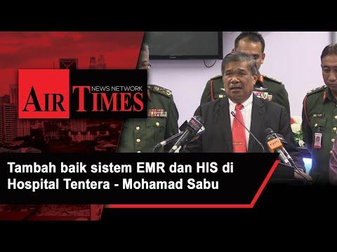 Tambah baik sistem EMR dan HIS di Hospital Tentera - Mat Sabu