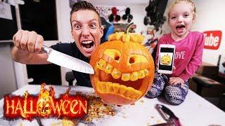 Halloween Kurbis Schnitzen Extreme Diy Ft Melissa Halloween