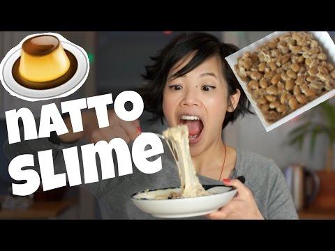 NATTO PUDDING SLIME Taste Test