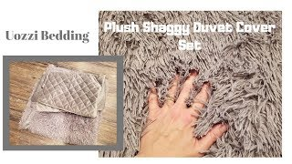 Uozzi Bedding Luxury Plush Shaggy Duvet Cover  Set- Product Review