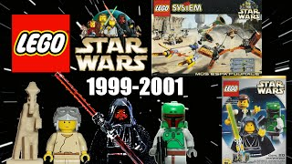 ALL LEGO Star Wars sets overview! (1999-2001)