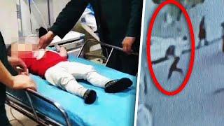 Man Breaks Boy's Fall Out Of Window
