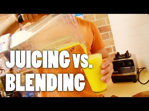 Video Juicing vs. Blending — How To Make Orange Juice with a Blender