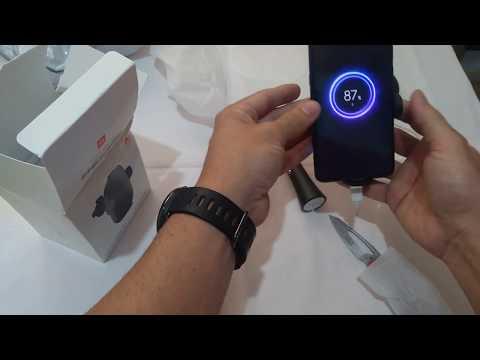 UNBOXING Xiaomi mi carregador veicular sem fio 20w com sensor infravermelho