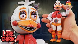 Making Funtime Chica from Five Nights at Freddy's 6 Pizzeria Simulator