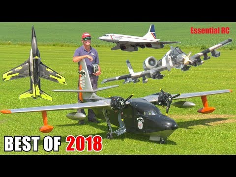 ② BEST OF ESSENTIAL RC 2018 | LARGE SCALE, FAST AND EXPLOSIVE RC ACTION COMPILATION