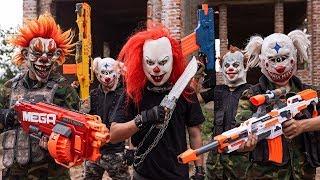 Video GUGU Nerf War : Swat patrol CID Dragon Nerf Guns Fight Criminal Group XICMAN Danger 2 MP3, 3GP, MP4, WEBM, AVI, FLV September 2019