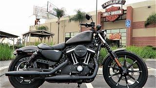 2018 Iron 883 Harley-Davidson Review & Test Ride (XL883N)