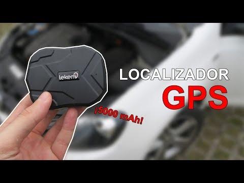 Localizador GPS para el coche o moto con 5000 mAh de batería