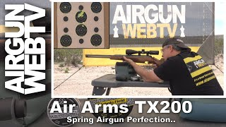 Air Arms TX200 - Spring Airgun Perfection