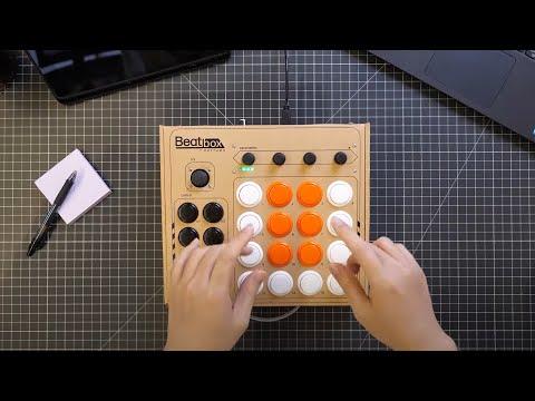 Beatbox by Rhythmo – DIY Cardboard MIDI Controller-GadgetAny