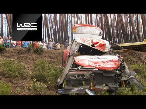 WRC 2018: Los accidentes