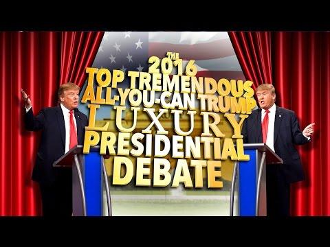Stephen moderuje prezidentskou debatu mezi Donaldem a Trumpem
