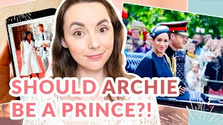HRH Prince Archie? British Royal Family Titles Explained