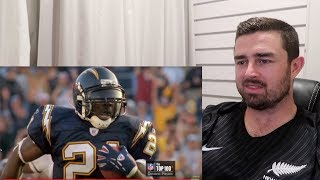 Rugby Fan Reacts to LADAINIAN TOMLINSON Insane Career Highlights!