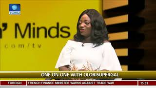 Olorisupergal Admits Learning From Linda Ikeji