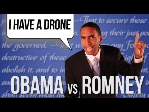Barack Obama vs Mitt Romney [RAP NEWS 16]