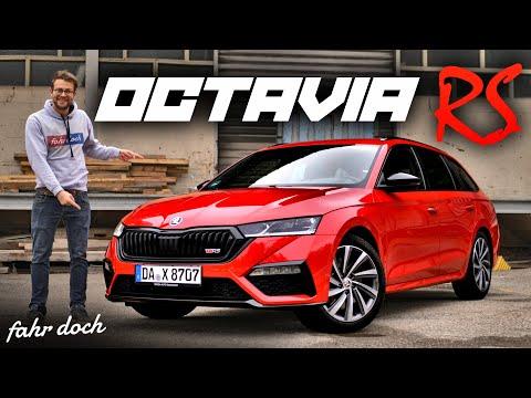 RS im ALLTAG HÄRTETEST | Skoda Octavia RS Combi 245 PS 2.0 TSI | Review und Fahrbericht | Fahr doch