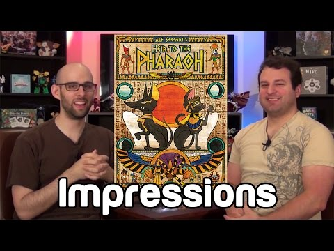 Heir to the Pharaoh Impressions   Roll For Crit