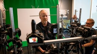 Adam Savage Gets 3D Scanned on the Expanse Set!