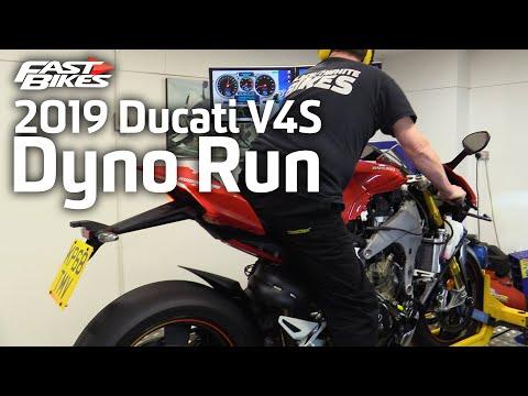 2019 Ducati Panigale V4S | Dyno Run | Ultimate Sports Bike