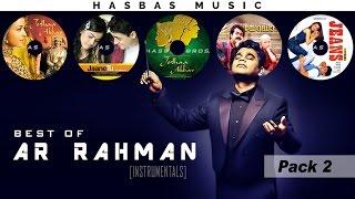 Best of AR RAHMAN [Instrumental] - PACK 2 | HasBas Bros. Studios