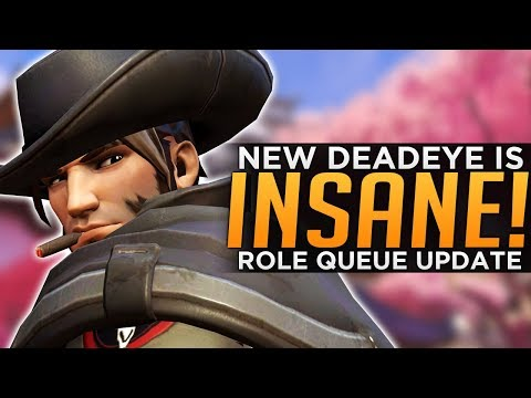 Overwatch: New Deadeye Is INSANE! - Jeff Talks More Role Queue