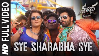 Sye Sharabha Sye Video Song | Sharabha Telugu Movie Songs | Aakash Kumar Sehdev, Mishti, Jaya Prada