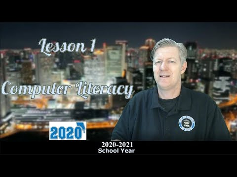 Computer Literacy Lesson 1 2020- Introduction, basics, - YouTube
