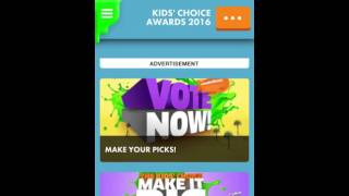 Voting For The 2016 Nickelodeon Kids Choice Awards