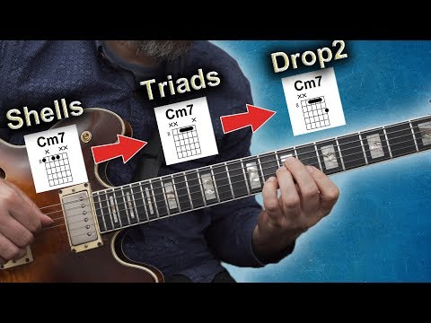How To Make A Set Of Solid Jazz Chords on Autumn Leaves
