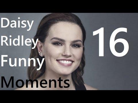 Daisy Ridley Funny Moments 16