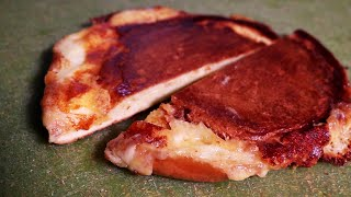 Smashed Brioche Grilled Cheese