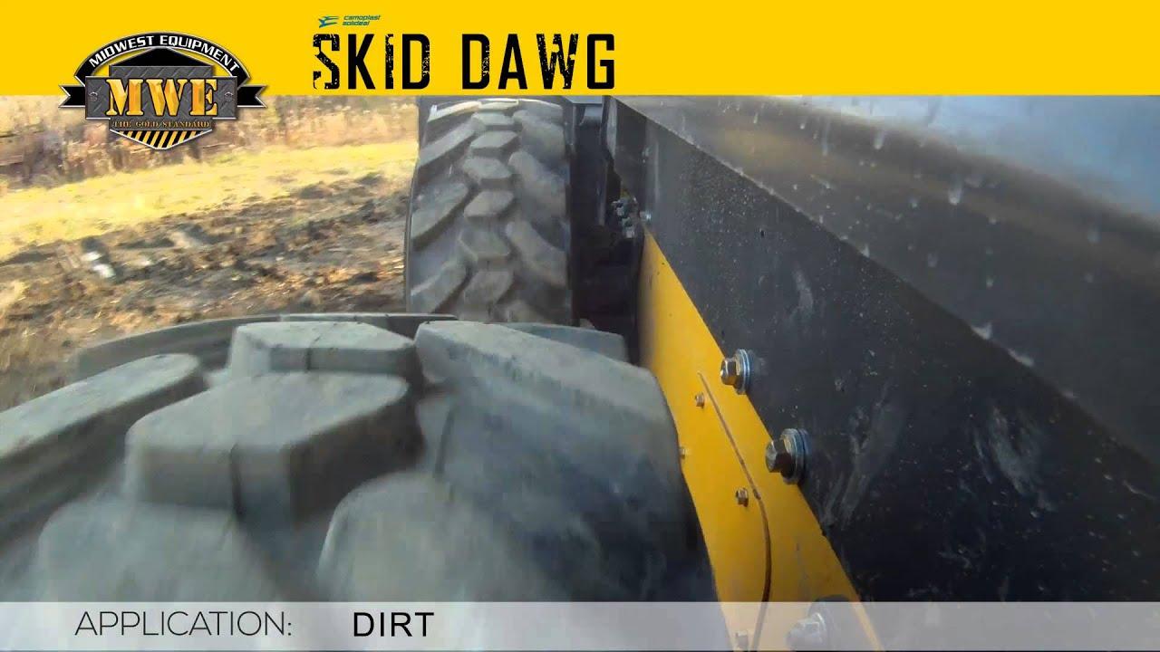 Skid Dawg - High Quality Hybrid Skid Steer Tires b