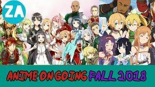 Gambar cover Anime Paling ditunggu di Fall 2018 Edisi oktober!!