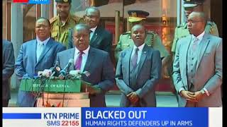 Million of Kenyans remain in the dark as CS Fred Matiang'i maintain that TV stations remain shut