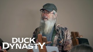 Duck Dynasty: Si Models for an Art Class (Season 8, Episode 5) | A&E