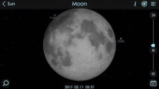 Penumbral Lunar Eclipse 11 02 2017