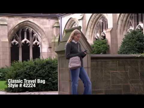 Travelon Anti Theft Classic Travel Bag Rfid Blocking Canada Luggage Depot