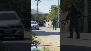 Artefato similar a explosivo foi desarmado em Porto Belo